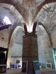Interior torre de Aledo