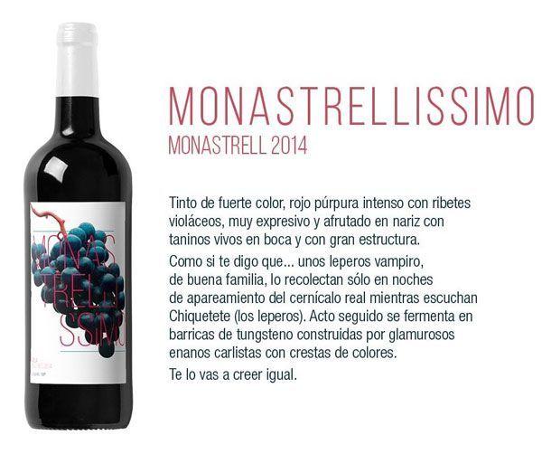 monastrellissimo Monastrellissimo, el vino de los vampiros fans de Chiquetete