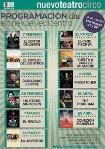 Nuevo Teatro Circo Cartagena Cine 213x300 Nuevo Teatro Circo Cartagena. Programación Febrero 2017