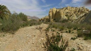 badlands 300x169 Badlands en la Región de Murcia. Barrancos de Gebas en Sierra Espuña