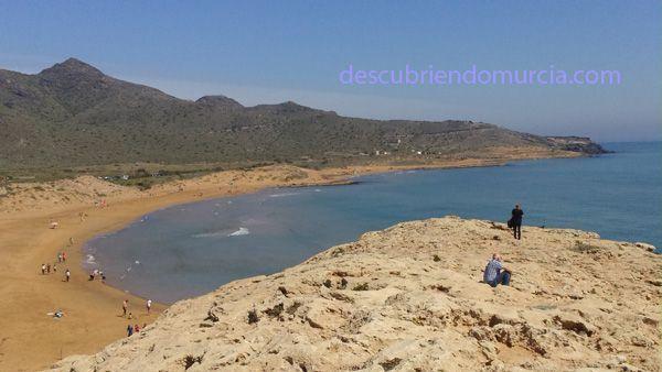 Calblanque Acampando en las paradisíacas playas de Calblanque, Cartagena