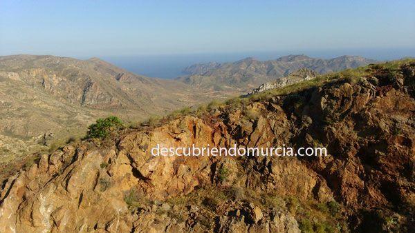Penas Blancas Cabo Tinoso Cartagena Peñas Blancas y las mayores minas de hierro de la Región de Murcia