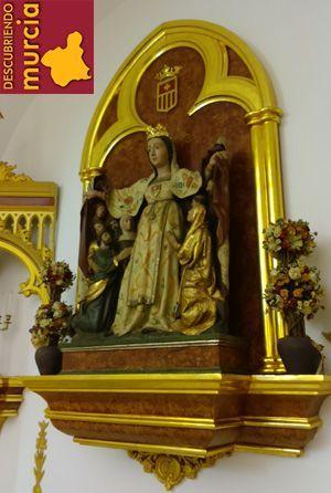 Virgen Merced Puebla Soto Murcia Puebla de Soto, la virgen de La Merced y Santarén